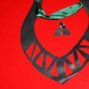 DIY: leather necklace [Ro&En]