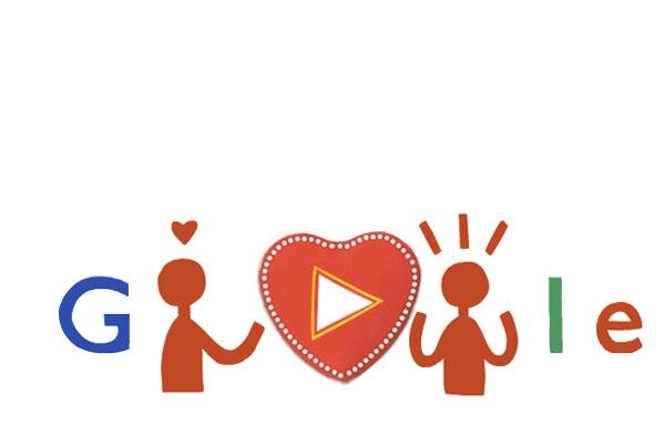 Google doodle 2014 valentine's day