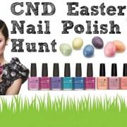 CONCURS: CND NAIL Polish Hunt