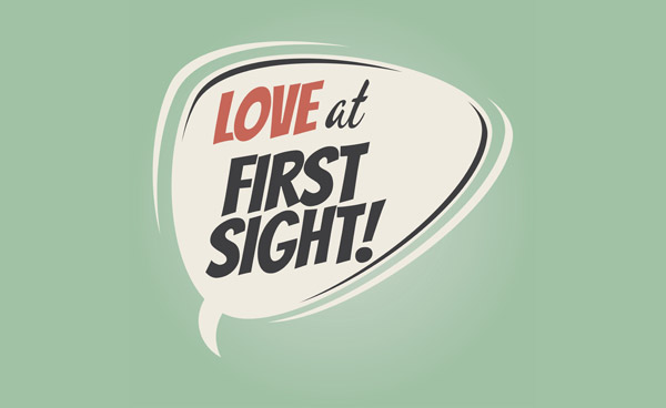 how to tell love at first sight