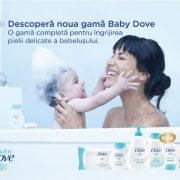 Noua gamă Baby Dove