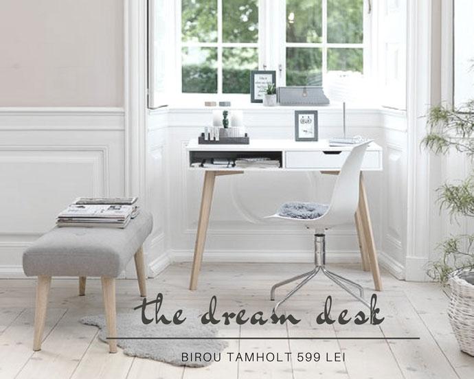 perfect white desk