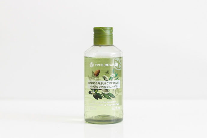 yves rocher almond orange blossom gel dus