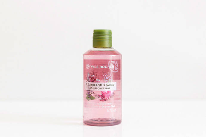 yves rocher lotus flower sage gel dus