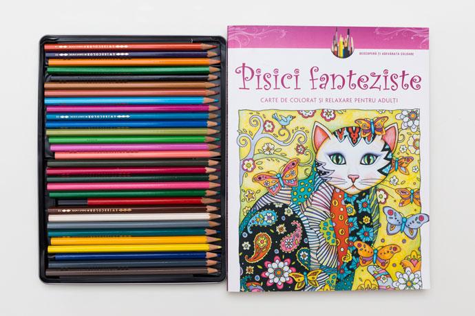 cărțile de colorat