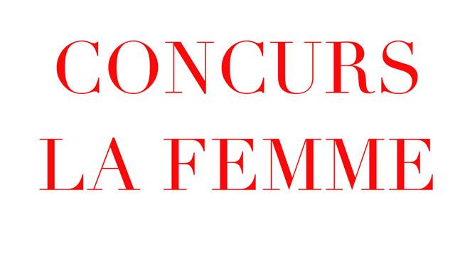 concurs la femme