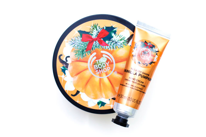 the body shop vanilla pumpkin