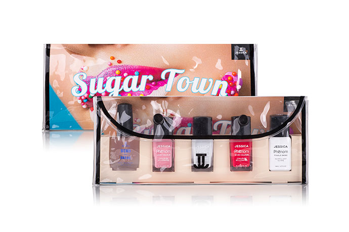 jessica cosmetics sugar town phenom collection bag