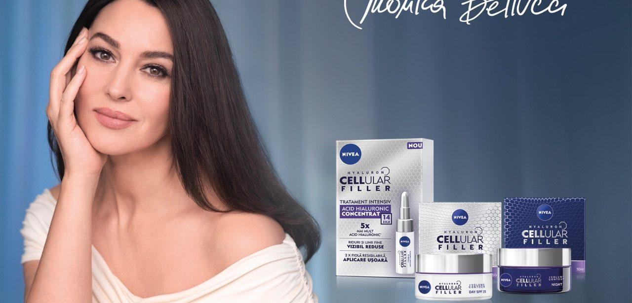 Monica Belucci și ale sale trei recomandări NIVEA CELLular