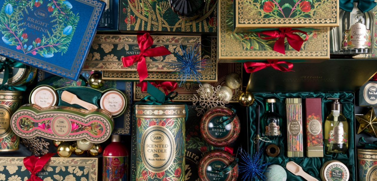 Sabon Holiday Splendors - colecția de sărbători de pus pe lista lui Moș Crăciun