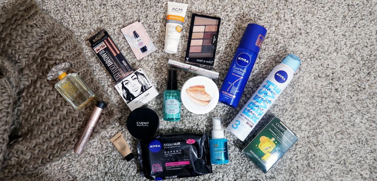 19 din 2018: Produse preferate de make-up și îngrijire