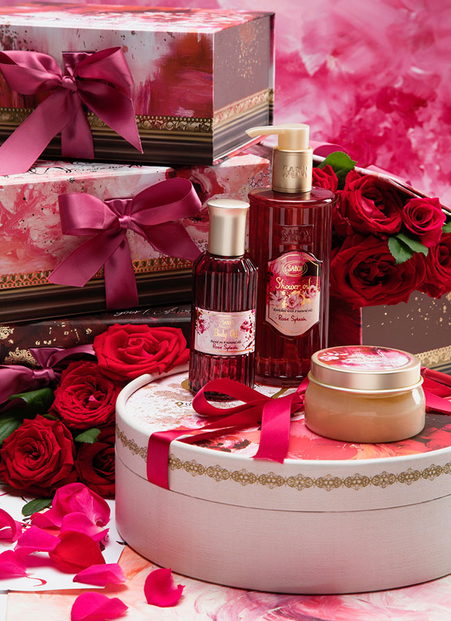 sabon rose splash